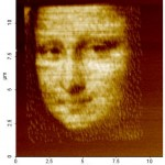 The Mona Lisa rendered on the microscale with polymers.