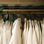 Lab coats in hospitals can be breeding grounds for dangerous microorganisms.