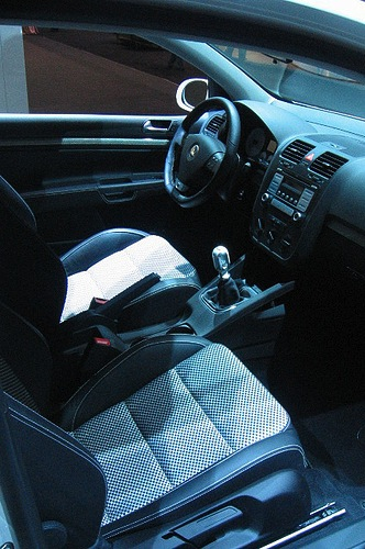 car interior
