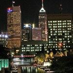 indianapolis at night