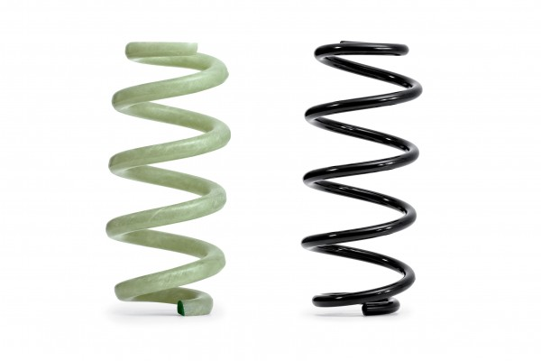 Lightweight, composite car springs.