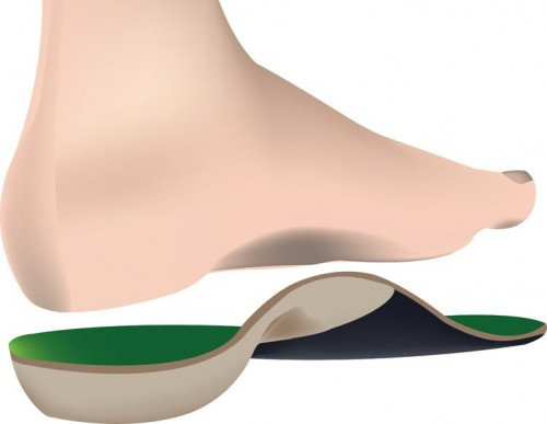 Orthotics can be made of many types of polymers.