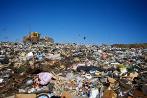 Landfills that collect greenhouse gases are best for the environment