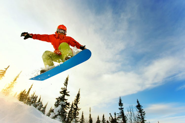 snowboarding-in-air